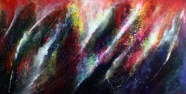 """A Call to Journey, 24"""" x 48"""" $1200"""