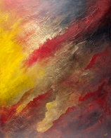 """Be Inspired By the Flame, 60"""" x 48"""" #1317"""