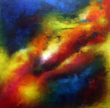 """Belly Of A Dream, 20"""" x 20"""" $600"""