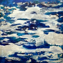"""Companion To The Clouds, 30"""" x 30"""" $900"""