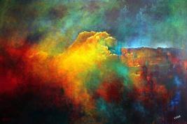"""Echo's Mountain"" 48"" x 72"" #1064 acrylic on canvas"