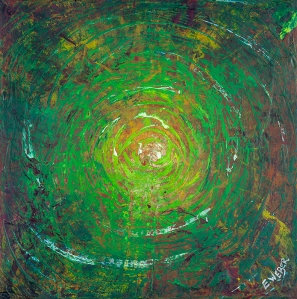 """Embryonic Verse, 10"""" x 10"""" #1279"""
