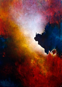 """Entwination""  48"" x 72"" #1250 acrylic on canvas"