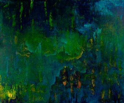 """I Wander In the Thousand Winds, 60"""" x 72"""" #1291"""