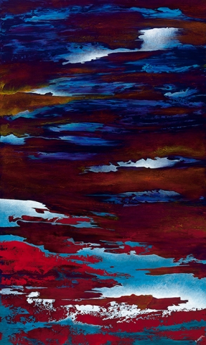 """Keep Falling From Nearness To Nearness, 60"""" x 36"""" $1850"""