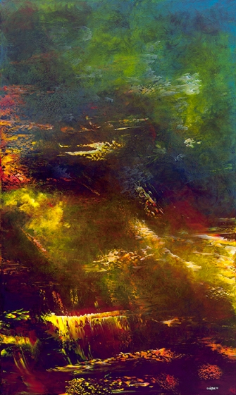 """Mana From My Muse, 60"""" x 36"""" #1139"""