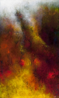 "Mountain Mystic, 60"" x 36"" $1850"