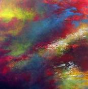 """New Beginnings"" 30"" x 30"" #1140 acrylic on canvas"