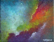 """Portal II"" 8"" x 10"" #1148 acrylic on canvas"