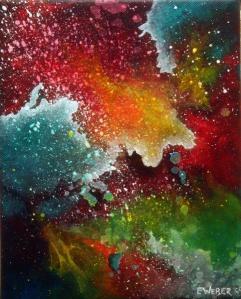 "Portal V  8"" x 10"" #1150 acrylic on canvas"