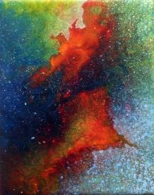 """Portal VI"" 8"" x 10"" #1151 acrylic on canvas"