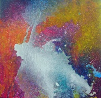 """Portal XII"" 12"" x 12"" #1157 acrylic on canvas"