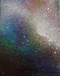 """Portal XIII"" 8"" x 10"" #1158 acrylic on canvas"