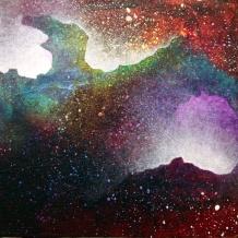 """""""Portal XIX"""" 9"""" x 9"""" #1161 acrylic on canvas"""