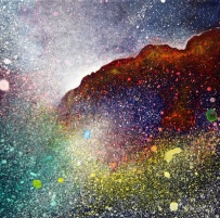"""Portal XX 9"""" x 9"""" #1162 acrylic on canvas"""