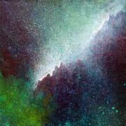 """""""Portal XXI"""" 9"""" x 9"""" #1163 acrylic on canvas"""