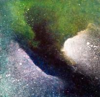 """""""Portal XXVI"""" 6"""" x 6"""" #1164 acrylic on canvas"""