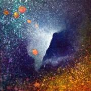 """""""Portal XXX"""" 6"""" x 6"""" #1166 acrylic on canvas"""