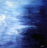 """Sigh's Twinning"" 12"" x 12"" #1051 acrylic on canvas"
