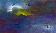 "That Need To Caress the Sky, 36"" x 60"" #1284"