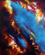 """The Art of Forgiveness"" 24"" x 30"" #1184 acrylic on canvas"