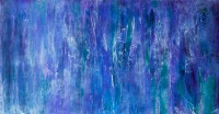 """The Everchanging Mists, 24"""" x 48"""" $1200"""