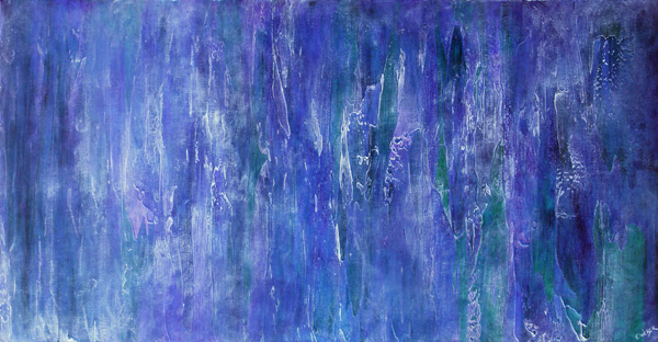 "The Everchanging Mists, 24"" x 48"" $1200"