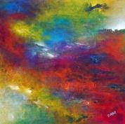 """The Journey"" 36"" x 36"" #1053 acrylic on canvas"