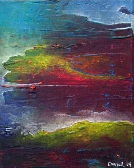 """The Shores"" 8"" x 10"" #1202 acrylic on canvas"