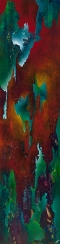 "To Be His Bird And Fly, 60"" x 15"" #1255"