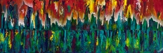 """To Dance Within, 12"""" x 36"""" $700"""