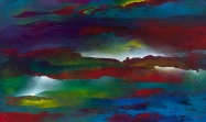 "Whispered Thunderstorms, 36"" x 60"" #1238"