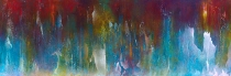 """You Are the Wind That Carries My Voice, 28"""" x 84"""" $2800"""
