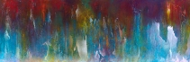 "You Are the Wind That Carries My Voice, 28"" x 84"" $2800"