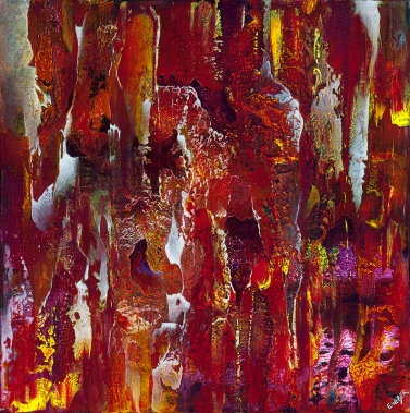 """You Burn In Every Drop Of My Blood, 24"""" x 24"""" #1254"""