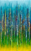 """And We Rise Up Rooted Like Trees, 60"""" x 36"""" $1850"""