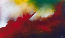 """You Whispered My Name In The Dark And I Was Found, 36"""" x 60"""" $1850"""