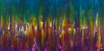 """Your Presence Resounds In My Depths, 24"""" x 48"""" $1200"""