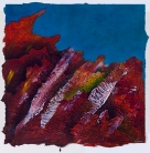 """That Stones Have Handled Time, acrylic on paper, 20"""" x 20"""" $850"""