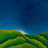 """Canopy II, acrylic on canvas, 30"""" x 30"""", $900"""