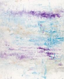 """Solitude Series: Bird Song 1, acrylic on canvas, 60"""" x 48"""", $2700"""