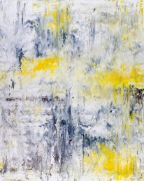 "Solitude Series: Bird Song II, acrylic on canvas, 60"" x 48"", $2700"