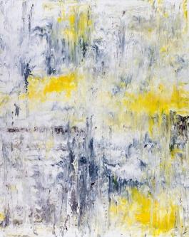 "Solitude Series: Bird Song II, acrylic on canvas, 60"" x 48"", $2700"
