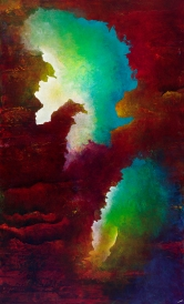 Go To the Limits of Your Longing 60x36 Inv#1413