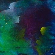 "Dreams I 18"" x 18"" acrylic on canvas INV # 1432"