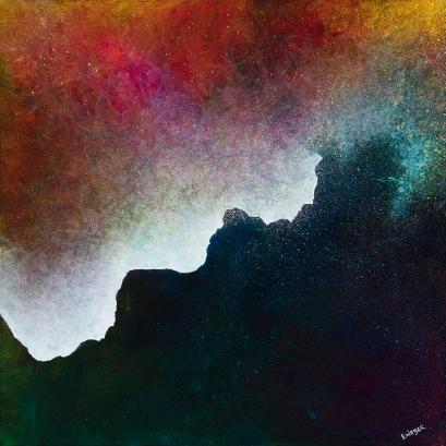 "Dreams II 18"" x 18"" acrylic on canvas INV # 1433"