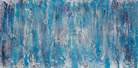 """The Everchanging Mists II 24"""" x 48"""" acrylic on canvas INV #1436"""